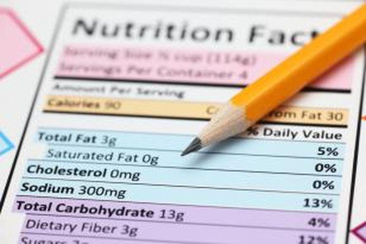 Bingung Baca Label Nutrisi Makanan Ini Caranya