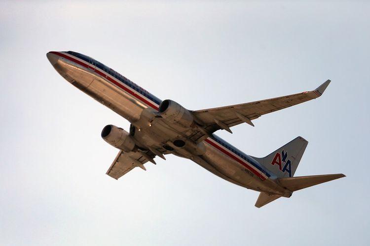Pesawat American Airlines.