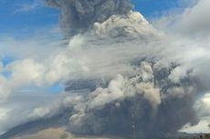 Gunung Sinabung Meletus, Ini Rekomendasi PVMBG