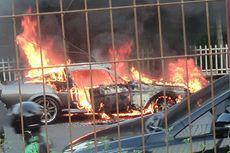 Mustang Shelby GT500 Terbakar di Pondok Indah, Diduga Korsleting