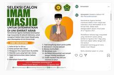 Seleksi Calon Imam Masjid Penempatan Uni Emirat Arab, Kontrak 2 Tahun dan Dapat Gaji