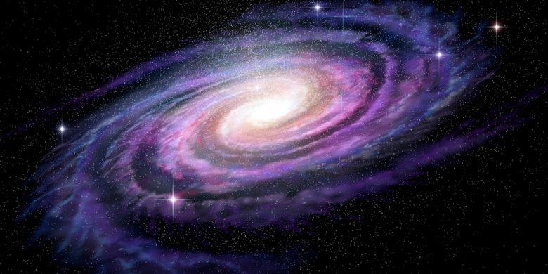 Galaksi Ursa Mayor Berbentuk