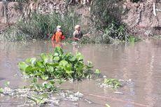 Dianggap Sudah Bersih dari Limbah, Warga Pungut Ikan di Bengawan Solo