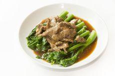 Resep Ca Kailan Daging Sapi ala Restoran Chinese Food