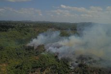 Kebakaran Lahan di Pulau Enggano Bengkulu, Ratusan Warga Butuh Makanan