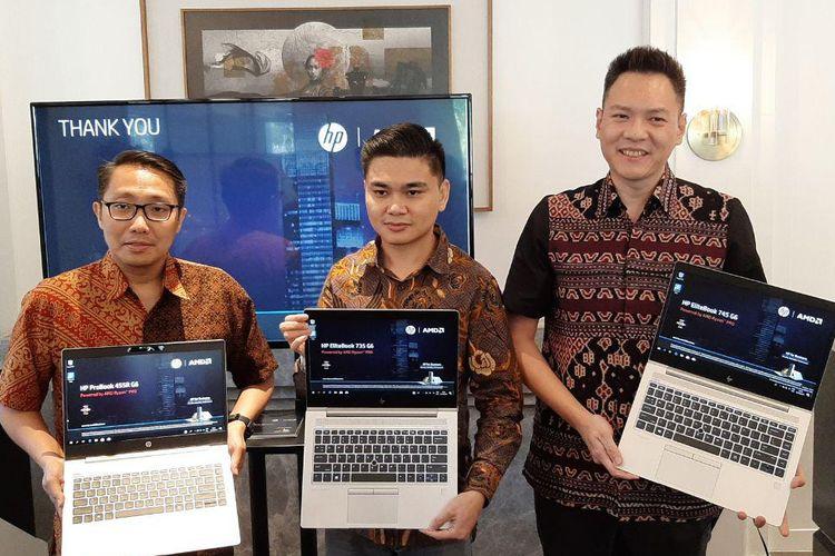 peluncuran laptop HP