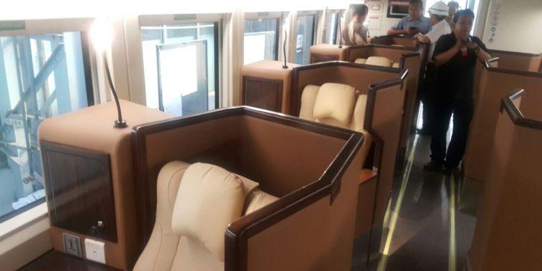 Kereta sleeper pesanan PT KAI buatan PT INKA yang akan dioperasionalkan saat mudik Lebaran 2018.
