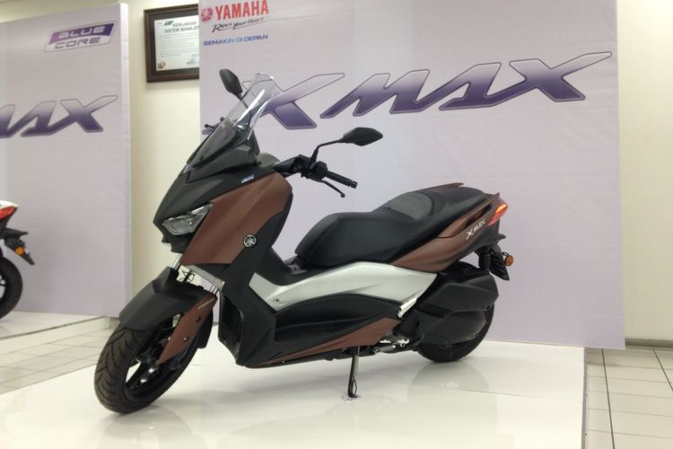 Yamaha XMAX untuk pasar Eropa.