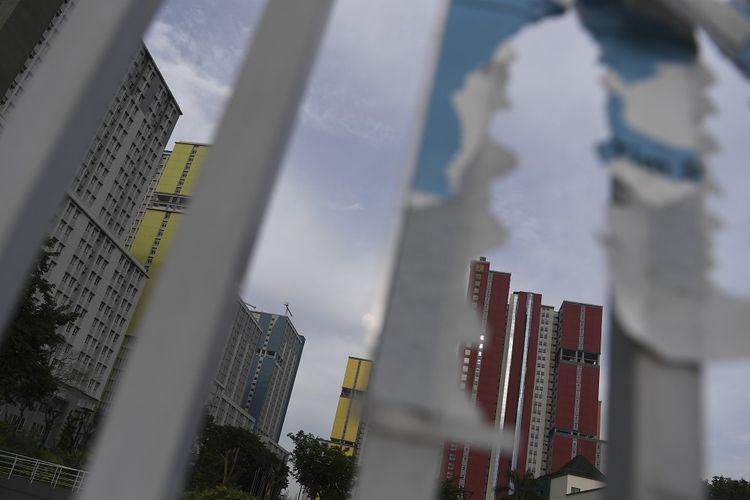 Suasana Wisma Atlet di Kemayoran, Jakarta, Rabu (18/3/2020). Pemerintah akan menyiapkan wisma atlet Kemayoran menjadi tempat isolasi masyarakat yang terjangkit COVID-19 guna menekan penyebaran virus tersebut lebih luas. ANTARA FOTO/Wahyu Putro A/foc.