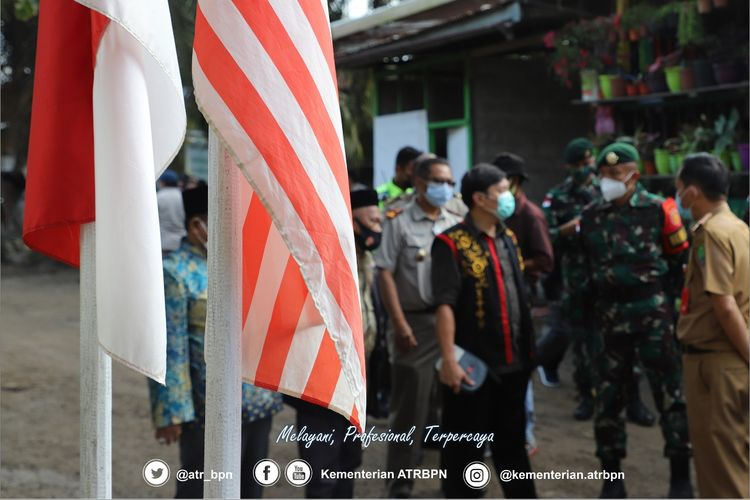 Wakil Menteri Agraria dan Tata Ruang/Wakil Kepala Badan Pertanahan Nasional (Wamen ATR/Waka BPN) melakukan kunjungan ke Kabupaten Nunukan, Provinsi Kalimantan Utara.
