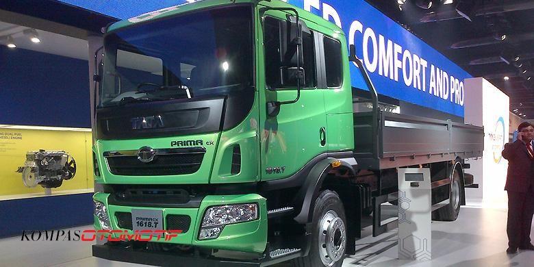 Salah satu kendaraan niaga produk Tata