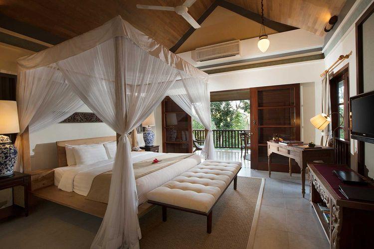 Duplex Royal Pool Villa di Plataran Borobudur Resort & Villa.