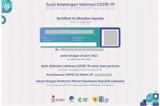 Cara Cek dan Download Sertifikat Vaksin di pedulilindungi.id