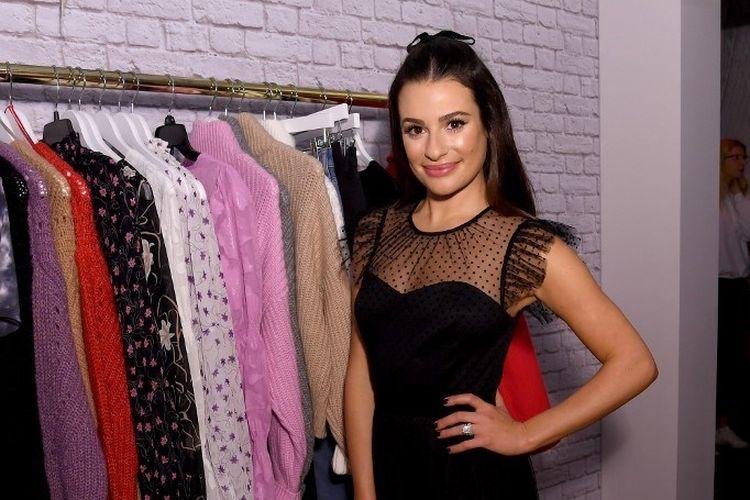 Artis peran Lea Michele menghadiri acara New Gifts At Every Turn di New York City, AS, pada 6 November 2019.