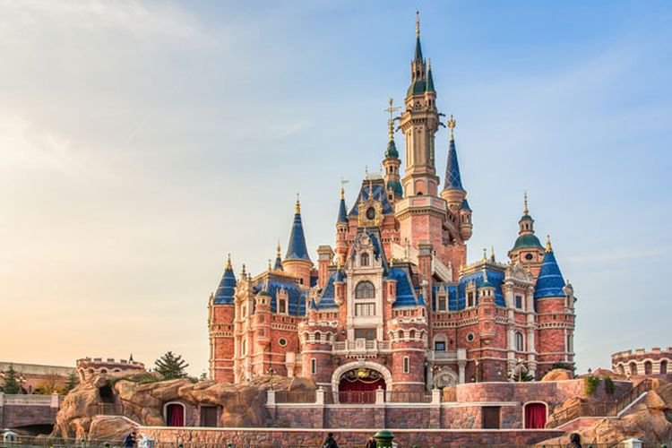 Shanghai Disneyland, China.