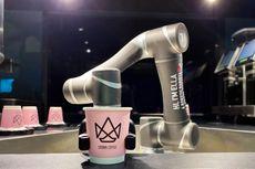 Perkenalkan Ella Robot Barista, Bisa Sajikan Minuman 200 Gelas Per Hari