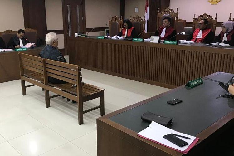 Managing Director PT Rohde and Schwarz Indonesia Erwin Syaaf Arief di Pengadilan Tindak Pidana Korupsi, Jakarta, Kamis (26/9/2019)