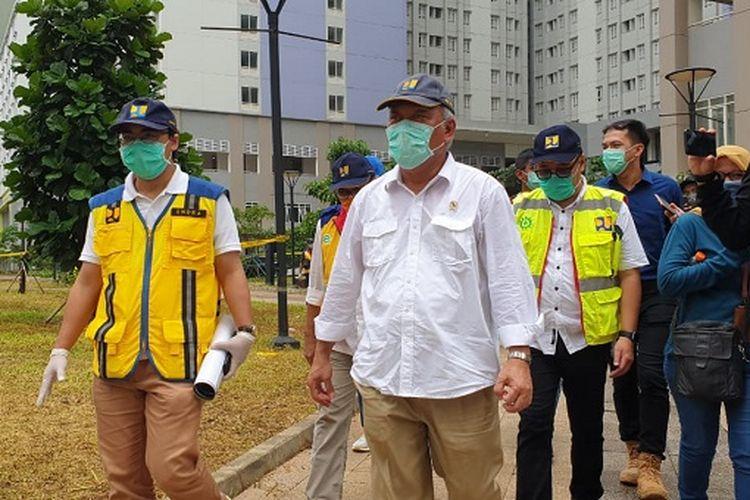 Penyelesaian RS Darurat Covid-19 di Wisma Atlet Kemayoran Sudah 100 Persen