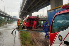Banjir 50 Cm yang Rendam Cipinang Melayu Sudah Surut