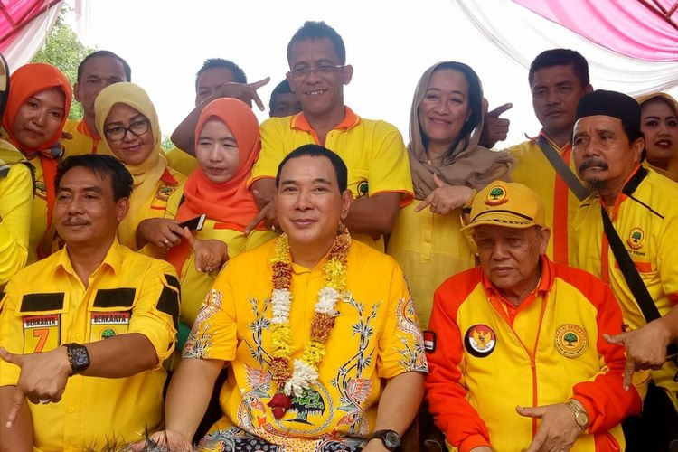 Ketua Umum DPP Partai Berkarya Hutomo Mandala Putra atau Tommy Soeharto.