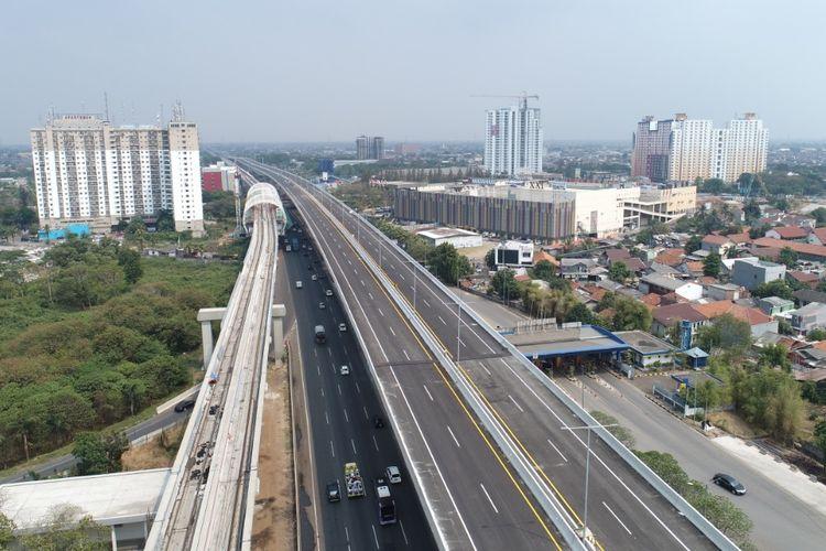 Penutupan Tol Jakarta-Cikampek II Elevated