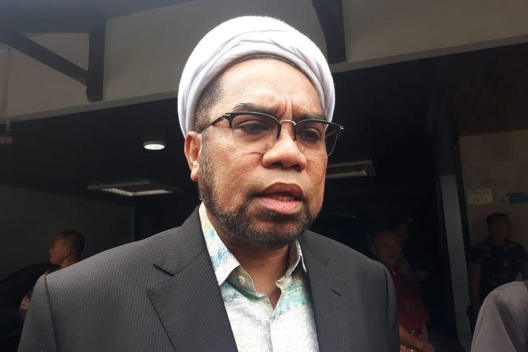 Ali Mochtar Ngabalin di di Jalan Widya Chandra V, Jakarta, Rabu (25/12/2019).