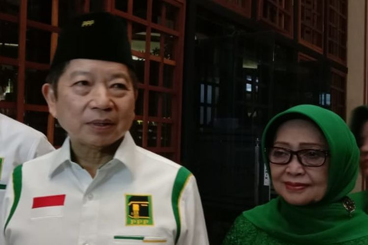 Suharso Monoarfa saat menghadiri sebuah acara di Kota Malang, Jumat (4/10/2019) malam.