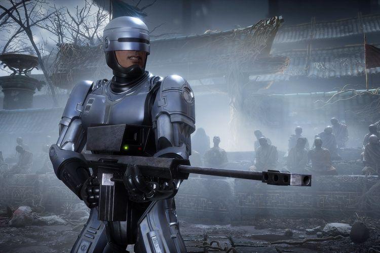 RoboCop di game Mortal Kombat 11.