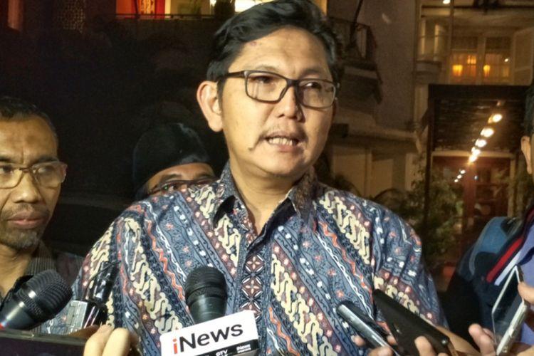 Sekjen Partai Keadilan Sejahtera (PKS) Mustafa Kamal saat ditemui di kawasan Kebayoran Baru, Jakarta Selatan, Kamis (19/4/2018).