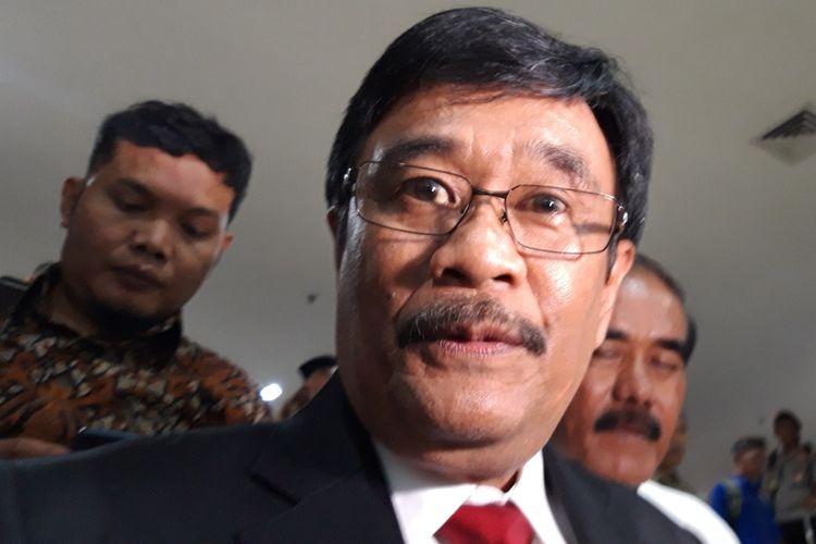 Mantan Gubernur DKI Jakarta Djarot Saiful Hidayat di Gedung DPRD DKI Jakarta, Senin (26/8/2019)