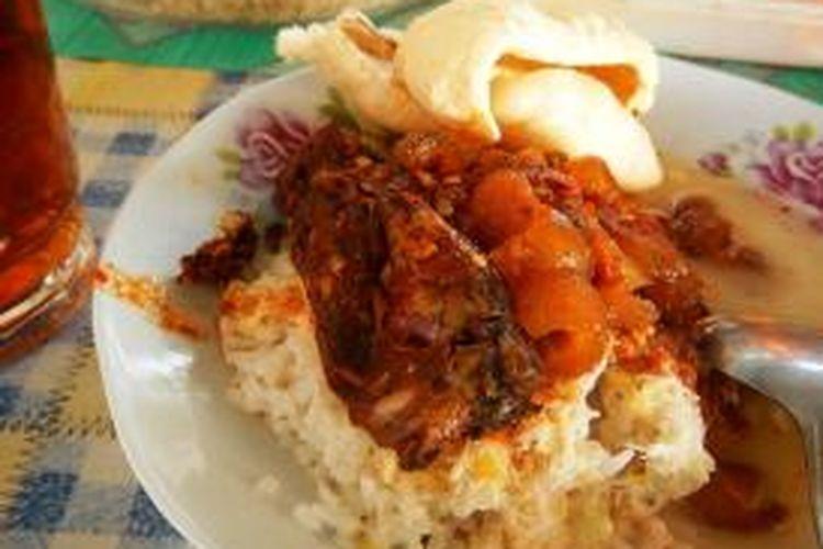 Nasi Cawuk Banyuwangi.