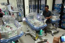 Korban Bencana Sulteng Melahirkan Bayi Kembar Tiga di Makassar