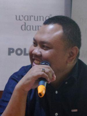 Pakar komunikasi politik Universitas Paramadina Hendri Satrio