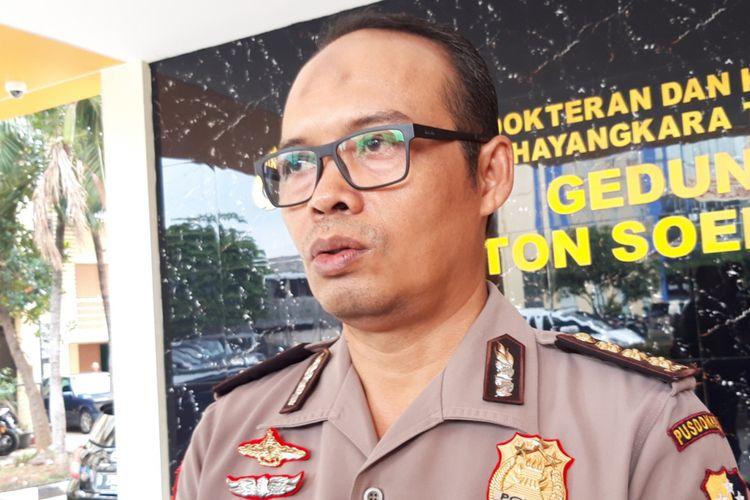 Kepala Instalasi Kedokteran Forensik RS Polri Kombes Edy Purnomo di Rumah Sakit Polri, Kramatjati, Jakarta Timur, Selasa (15/1/2019)
