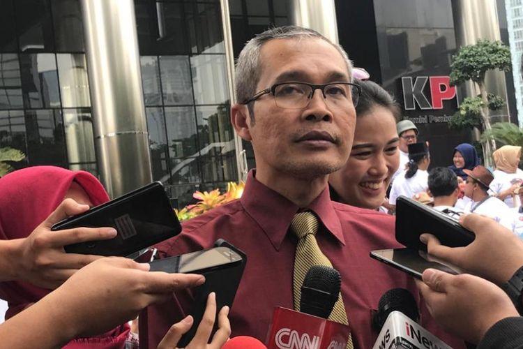 Wakil Ketua Komisi Pemberantasan Korupsi (KPK) Alexander Marwata di Gedung Merah Putih KPK, Jakarta Selatan, Senin (24/9/2018).