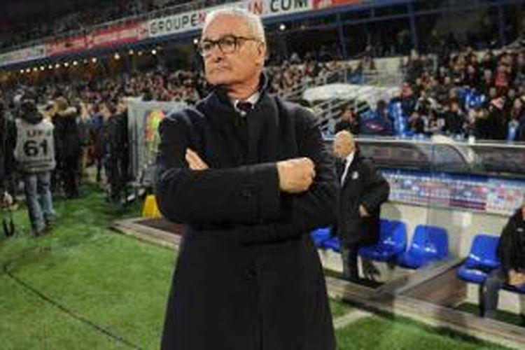 Pelatih AS Monaco, Claudio Ranieri.