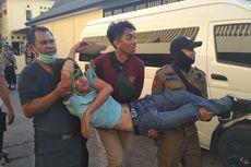 Mahasiswa Demo Duduki DPRD Sulsel, 37 Terluka, 2 Diamankan