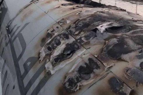 Airbus Milik Qatar Airways Terbakar dalam Proses
