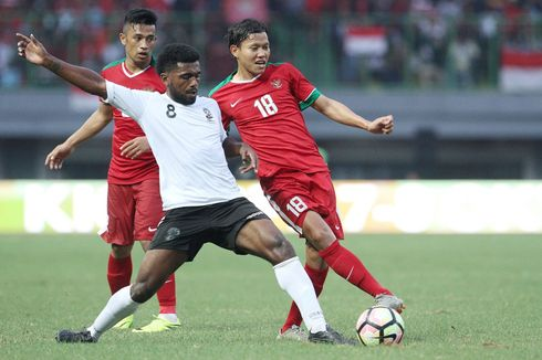 Indonesia Vs Fiji, 21 Tembakan Tanpa Gol