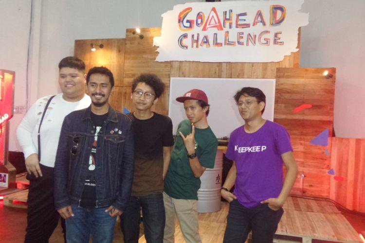 Pameran ONBoarding Go Ahead Challenge di Gudang Sarinah, Pancoran, Jakarta Selatan, Minggu (14/5/2017).