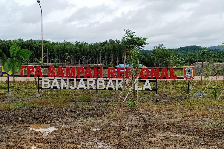 TPA Regional Banjarbakula, Kalimantan Selatan, diresmikan Presiden Joko Widodo, Jumat (7/2/2020)