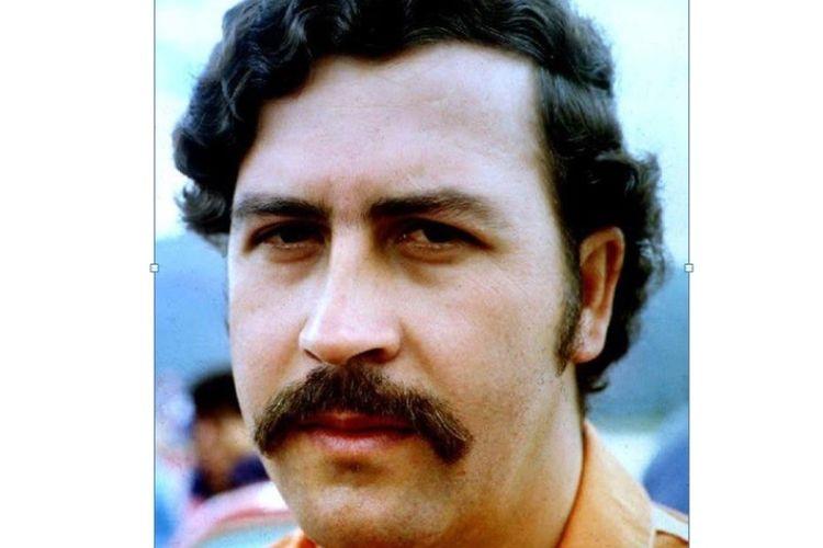 Pablo Escobar, salah satu gembong narkoba terbesar dunia asal Kolombia.