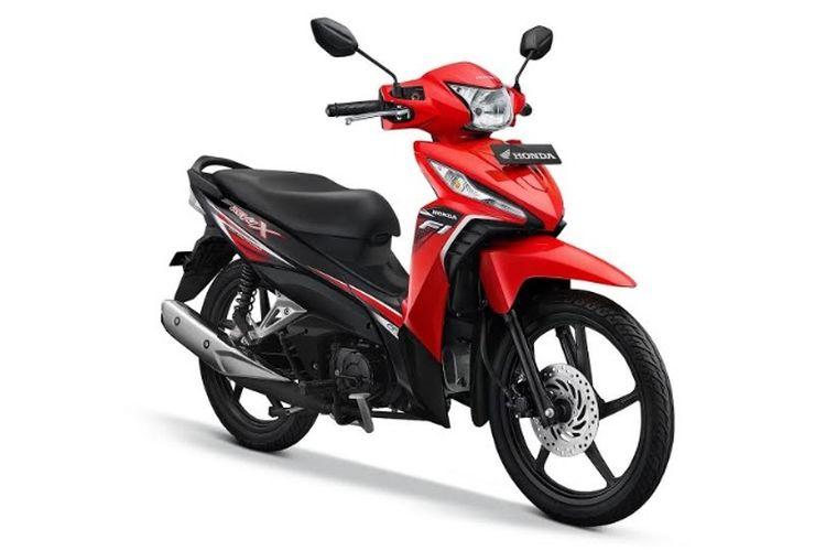 Warna baru Honda Revo X Attractive Red