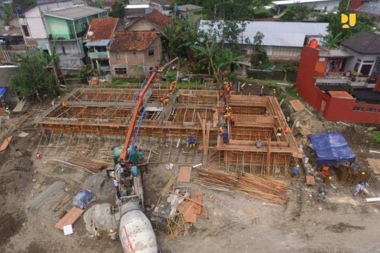Sistem Pengelolaan Air Limbah Domestik (SPALD) di Daerah Istimewa Yogyakarta (DIY).