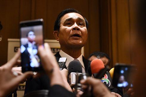 Kesal dengan Pertanyaan, PM Thailand Semprotkan Disinfektan ke Wartawan