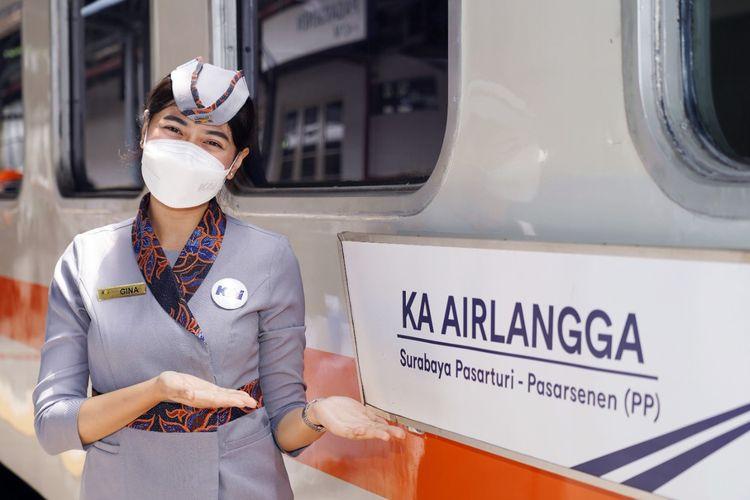 KA Airlangga rute Jakarta-Surabaya resmi beroperasi dengan tarif subsidi.