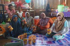 Ikan berlimpah, Para Ibu di Kampung Taver Fakfak Produksi Abon untuk Biaya Sekolah Anak