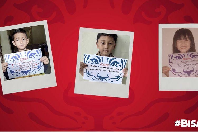 Biskuat mengajak anak-anak Indonesia berbagi semangat ?kekuatan baik dari dalam? kepada seluruh masyarakat melalui kampanye #BisaKuat.