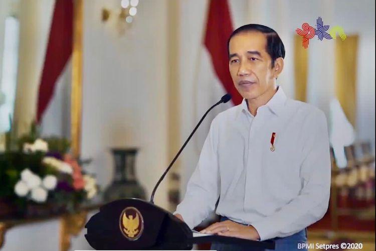 Presiden Jokowi membuka Pekan Kebudayaan Nasional (PKN) yang akan digelar 31 Oktober hingga 30 November 2020.