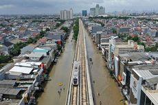 Sempat Terhenti Karena Listrik Jakarta Padam, Layanan LRT Kembali Normal